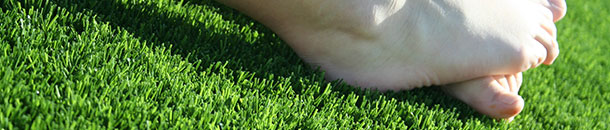 feet on the grass